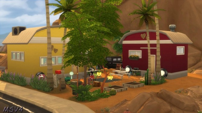 Multiple houses at Manine Sim Vallee image 18013 670x378 Sims 4 Updates