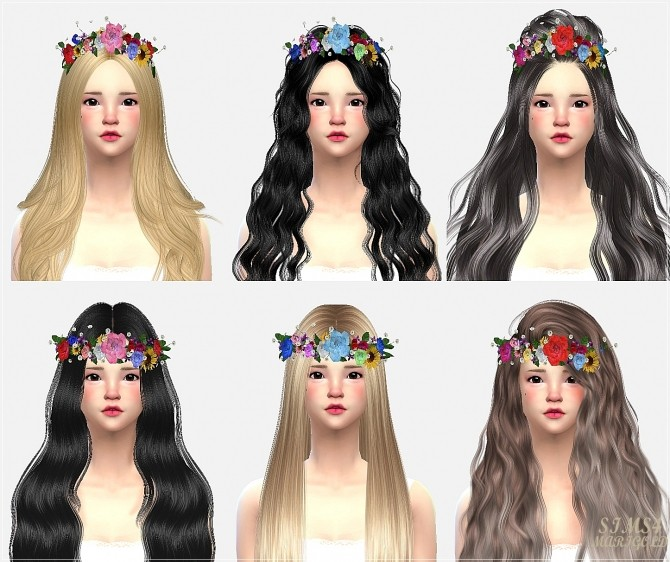Flower crown at Marigold image 18014 670x562 Sims 4 Updates