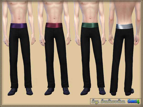 Sims 4 Vampire set  jacket and pants at TSR