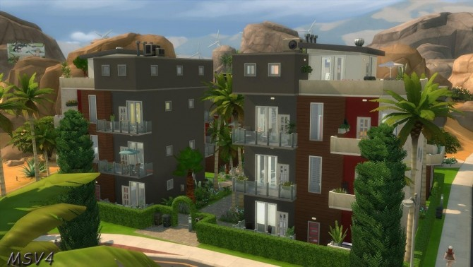 Multiple houses at Manine Sim Vallee image 18119 670x378 Sims 4 Updates