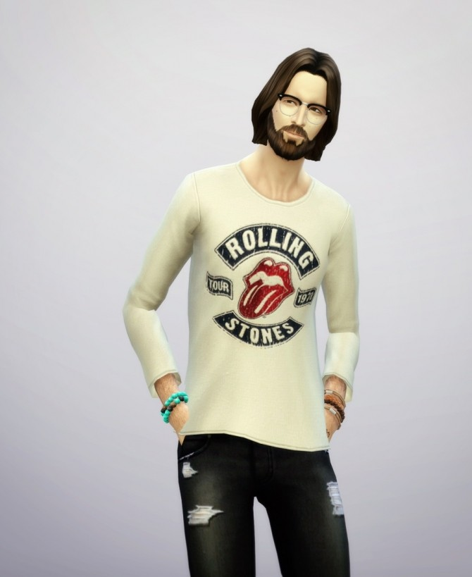 T shirt for males at Rusty Nail image 184 670x819 Sims 4 Updates