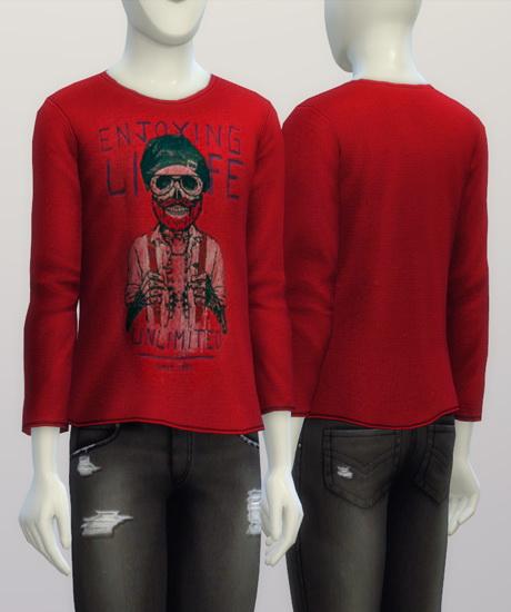 T shirt for males at Rusty Nail image 185 Sims 4 Updates