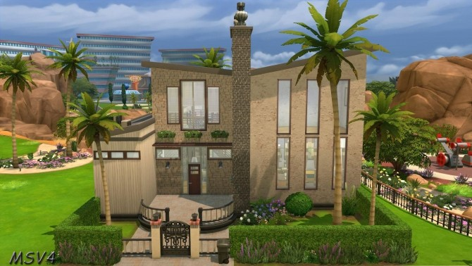 Multiple houses at Manine Sim Vallee image 18612 670x378 Sims 4 Updates