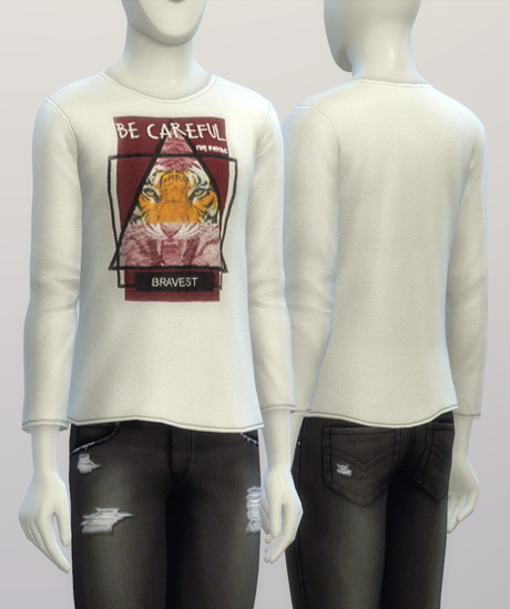Sims 4 T shirt for males at Rusty Nail