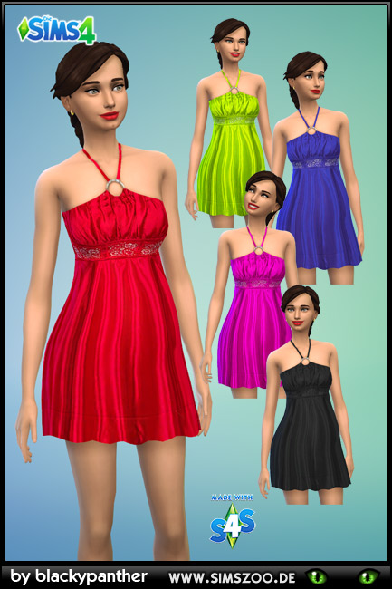 Sims 4 Evening Dress 48 by blackypanther at Blacky's Sims Zoo