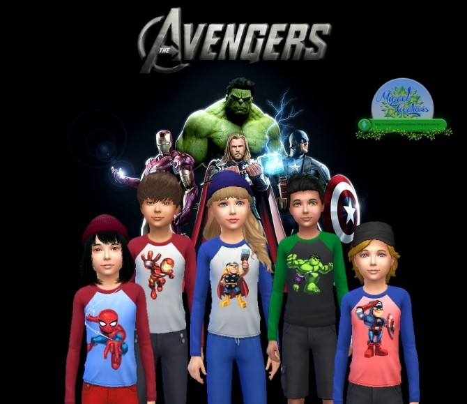 Movie posters and tees at Victor Miguel image 19215 670x579 Sims 4 Updates