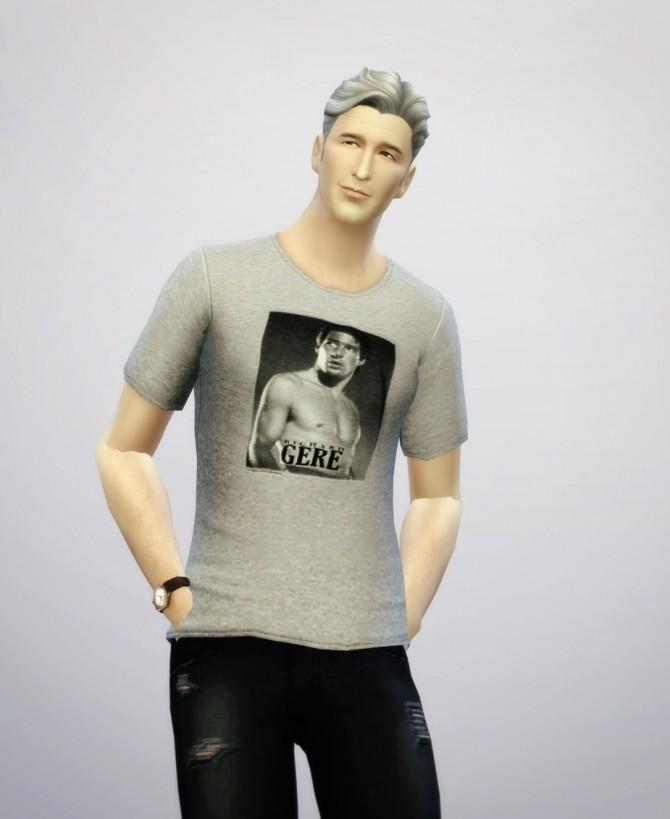 Richard Gere t shirt at Rusty Nail image 194 670x819 Sims 4 Updates