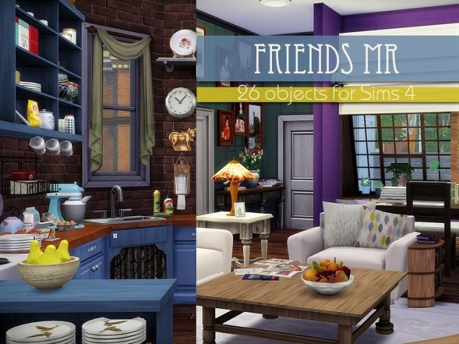 Friends MR 26 items by Kiolometro at TSR image 1940 670x503 Sims 4 Updates