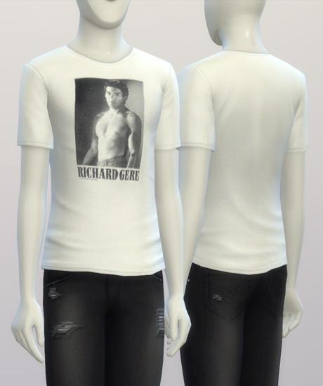 Richard Gere t shirt at Rusty Nail image 195 Sims 4 Updates