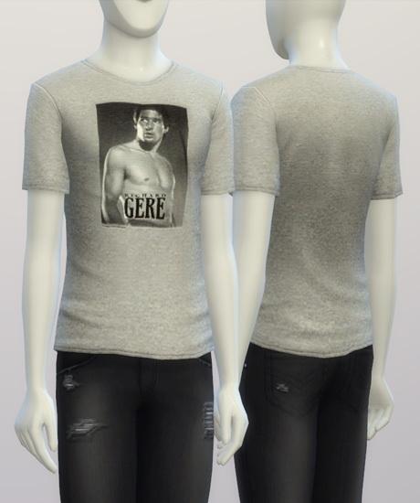 Richard Gere t shirt at Rusty Nail image 196 Sims 4 Updates