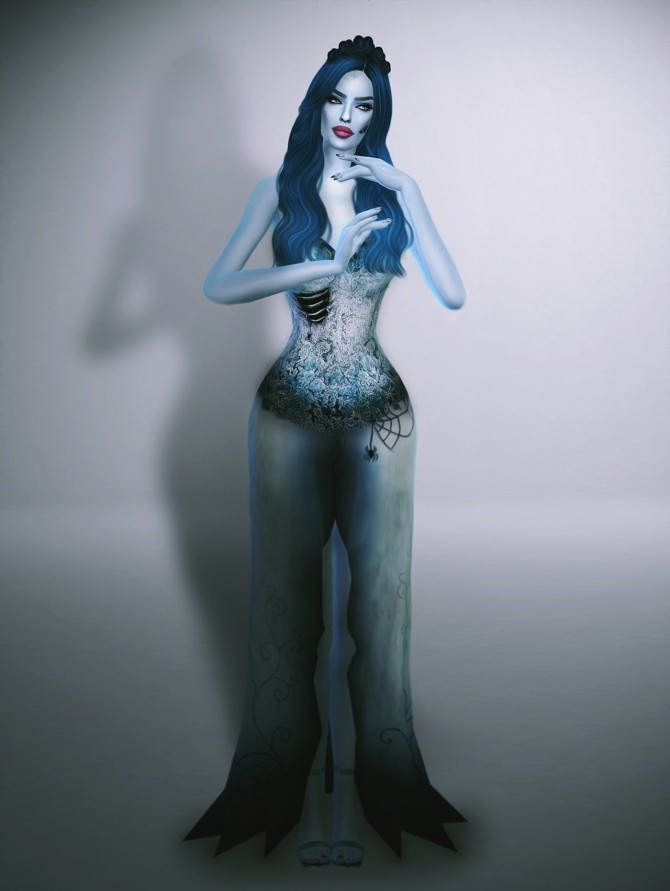 Sims 4 Corpse Bride Collection at Fashion Royalty Sims