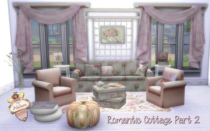 romantic cottage decor pt 2 at alelore sims blog sims 4