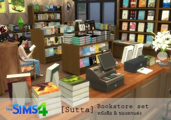 Bookstore set at Sutta Sims4 image 20010 670x471 Sims 4 Updates