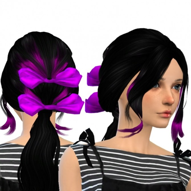 Sims 4 Ela Sky 12F & Accessory (now clayed too) at Dachs Sims