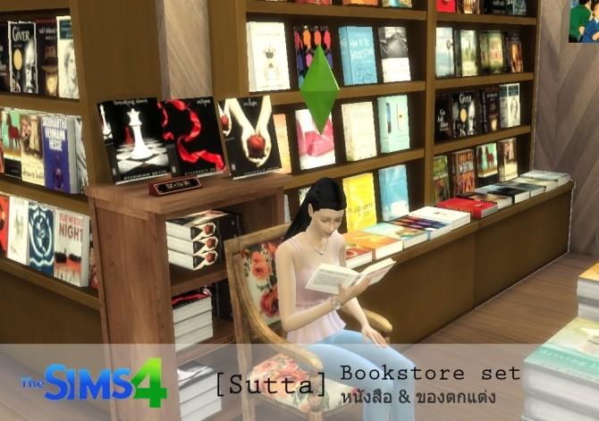 Bookstore set at Sutta Sims4 image 20117 670x471 Sims 4 Updates