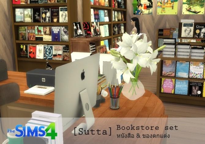 Bookstore set at Sutta Sims4 image 20313 670x471 Sims 4 Updates