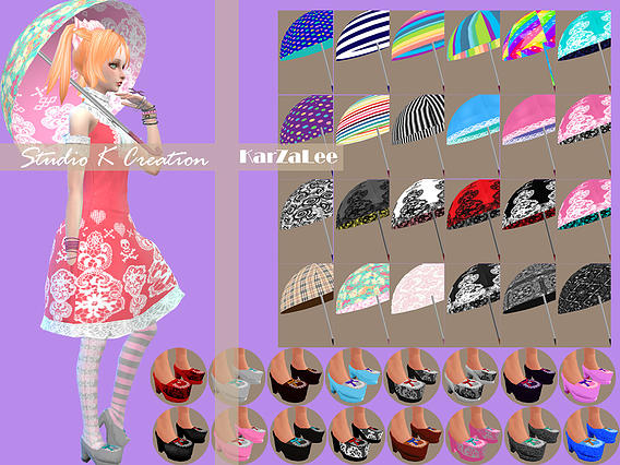 Bloody Lilith Lolita outfit at Studio K Creation image 20315 Sims 4 Updates