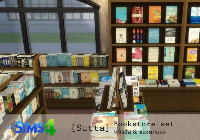 Bookstore set at Sutta Sims4 image 20511 670x471 Sims 4 Updates