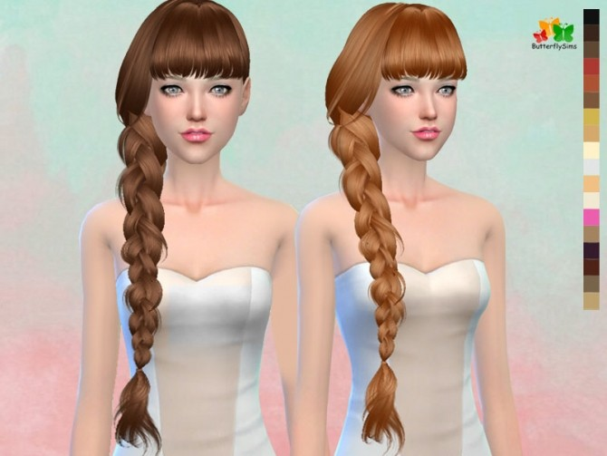 B fly hair 166 (Pay) at Butterfly Sims image 2054 670x503 Sims 4 Updates