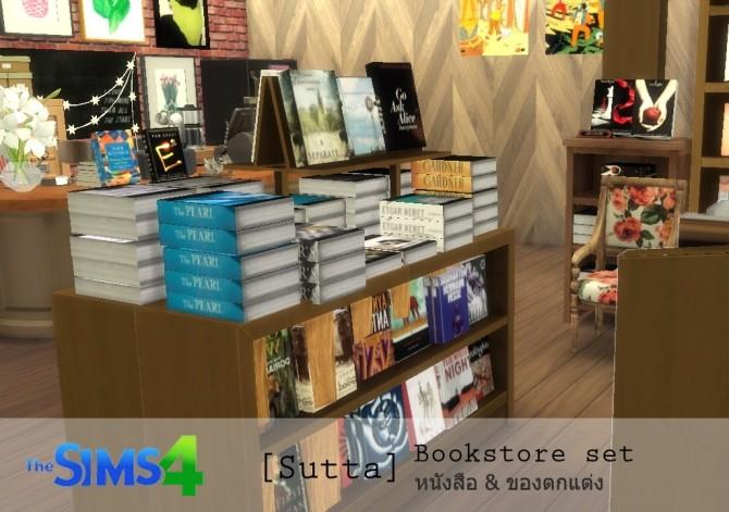 Bookstore set at Sutta Sims4 image 20610 670x471 Sims 4 Updates