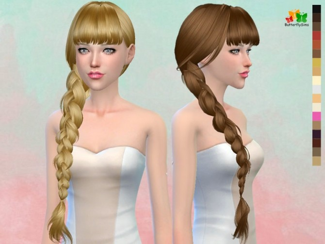 B fly hair 166 (Pay) at Butterfly Sims image 2064 670x503 Sims 4 Updates