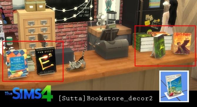 Bookstore set at Sutta Sims4 image 20810 670x366 Sims 4 Updates