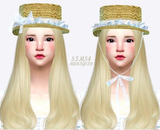 Lace frill hat boater at Marigold image 21118 670x542 Sims 4 Updates