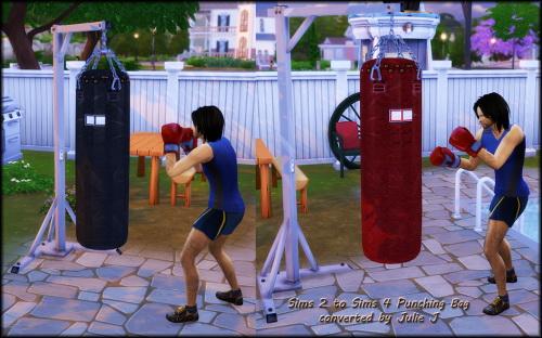 Sims 4 Sims 2 to Sims 4 Punching Bag at Julietoon – Julie J