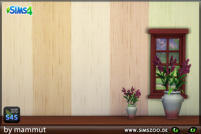 Sims 4 Textile wall 1 by Mammut at Blacky's Sims Zoo