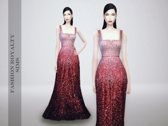 E.S. Fall 2014 Ombre Dress at Fashion Royalty Sims image 21311 670x503 Sims 4 Updates