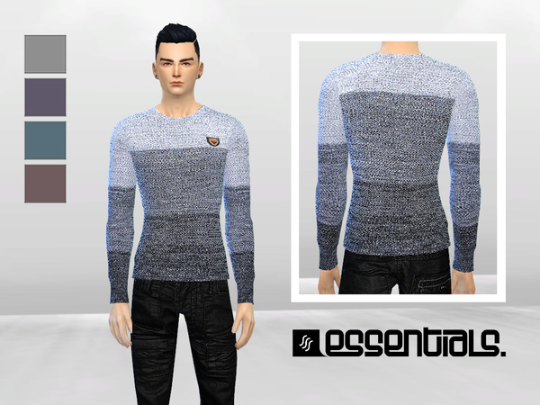Djinn Knit Sweater by McLayneSims at TSR image 2212 Sims 4 Updates