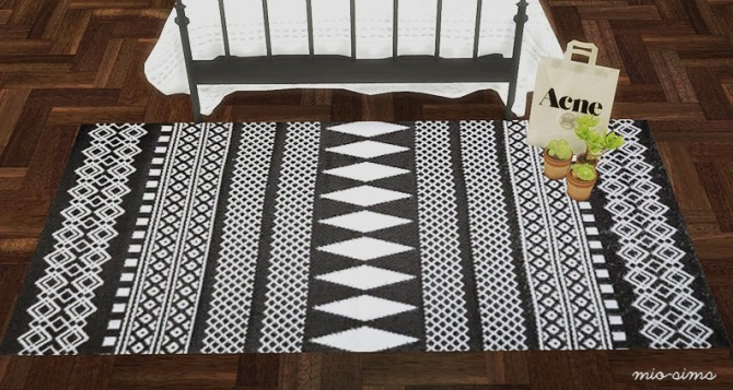Cassandre rug recolors at MIO image 22412 670x357 Sims 4 Updates