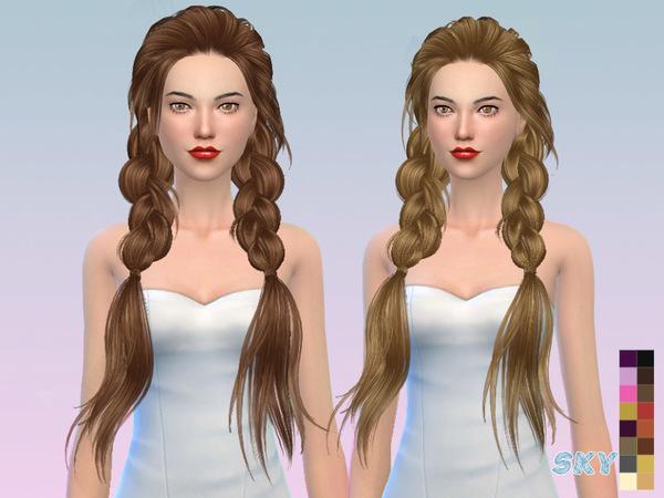 Sims 4 Paul hair 275 by Skysims at TSR