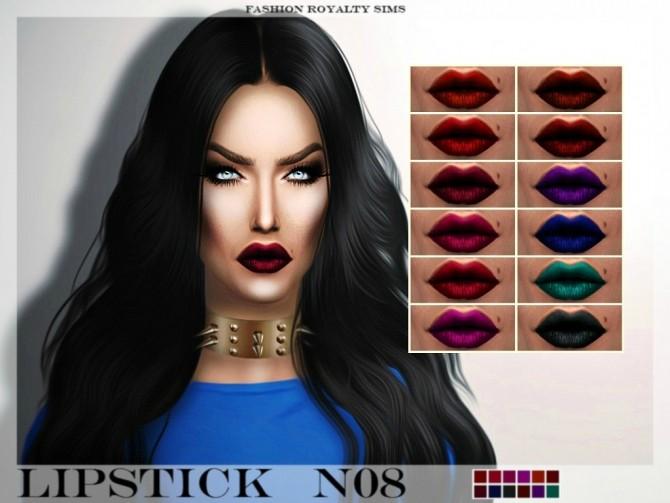 Sims 4 Lipstick N08 at Fashion Royalty Sims