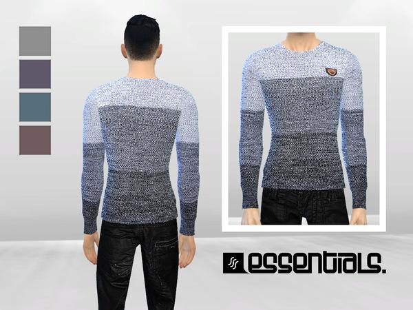 Djinn Knit Sweater by McLayneSims at TSR image 2310 Sims 4 Updates