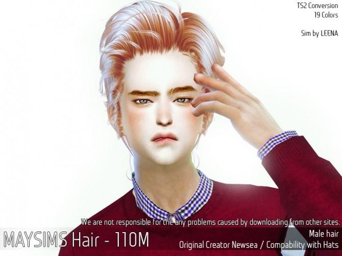 Hair 110 M (Newsea) at May Sims image 2334 670x503 Sims 4 Updates