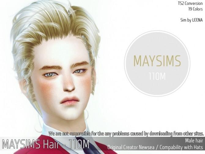 Hair 110 M (Newsea) at May Sims image 2343 670x503 Sims 4 Updates