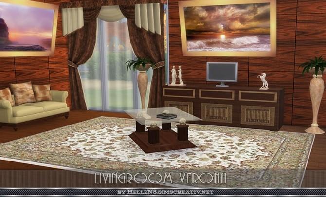 Verona livingroom by Hellen at Sims Creativ image 24113 670x405 Sims 4 Updates