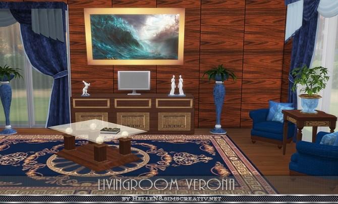 Verona livingroom by Hellen at Sims Creativ image 24211 670x405 Sims 4 Updates