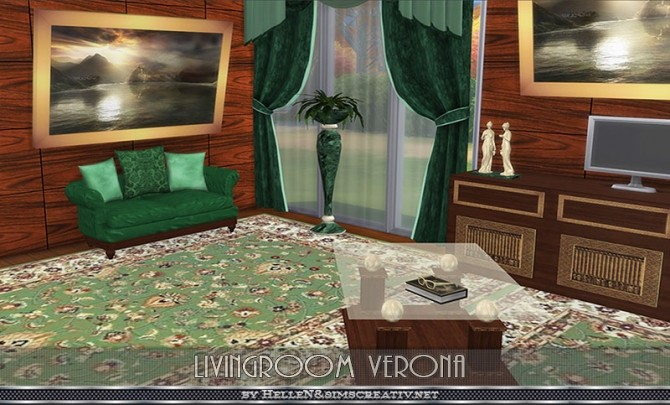 Verona livingroom by Hellen at Sims Creativ image 24310 670x405 Sims 4 Updates