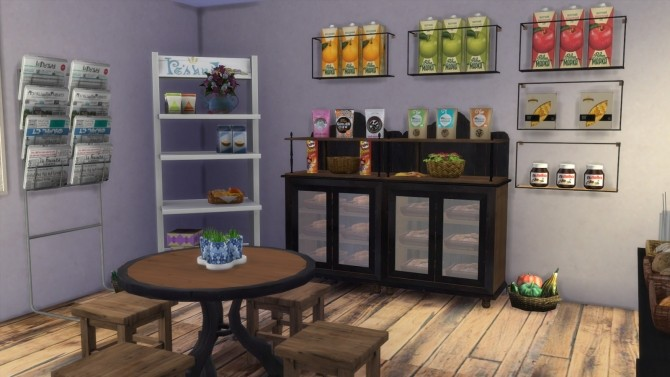 Grocery Store at Dinha Gamer image 2452 670x377 Sims 4 Updates
