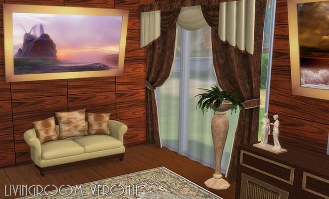 Verona livingroom by Hellen at Sims Creativ image 2454 670x405 Sims 4 Updates