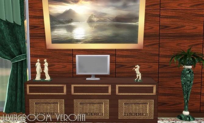Verona livingroom by Hellen at Sims Creativ image 2474 670x405 Sims 4 Updates