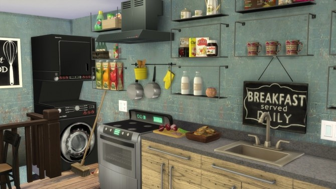 Grocery Store at Dinha Gamer image 2502 670x377 Sims 4 Updates