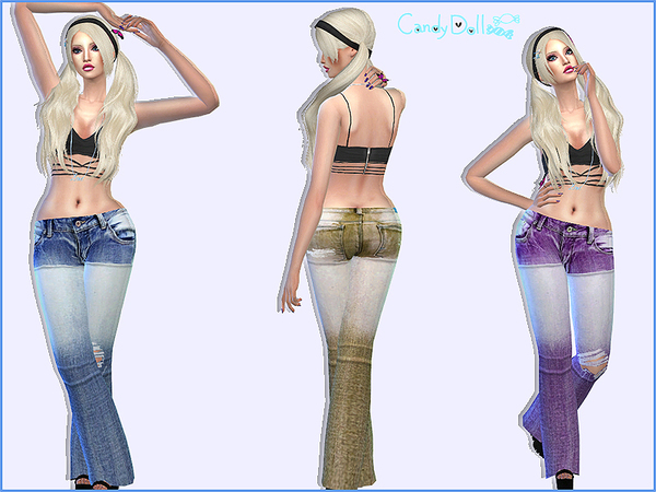 Sims 4 Candy Doll CandyFloss Set by DivaDelic06 at TSR