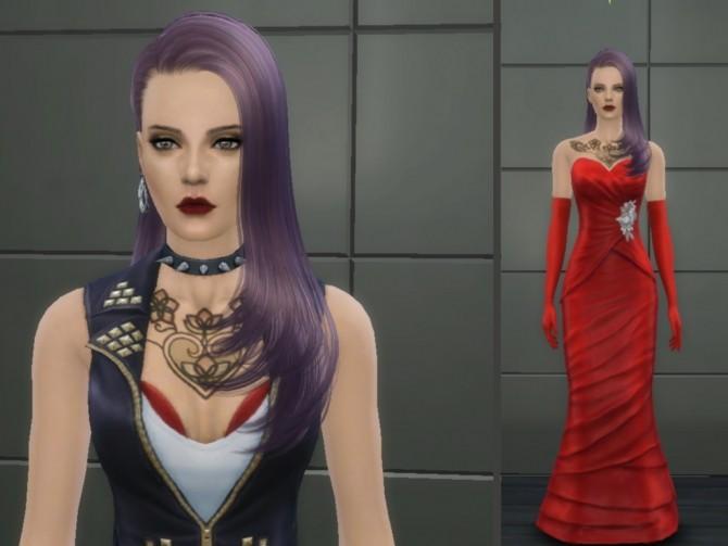 Sims 4 Anna at Tatyana Name