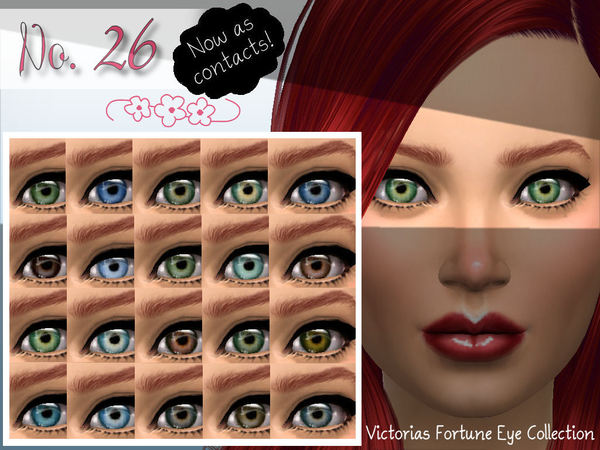 Sims 4 Victorias Fortune No. 26 Contacts Collection by fortunecookie1 at TSR