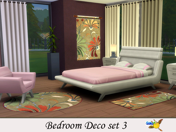 Bedroom set 3 by Evi at TSR image 2816 Sims 4 Updates