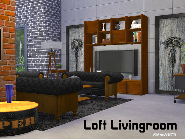 Living Loft by ShinoKCR at TSR image 282 Sims 4 Updates