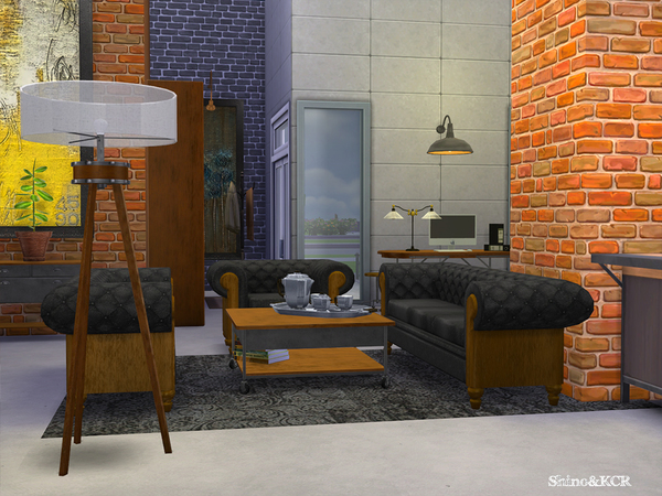 Living Loft by ShinoKCR at TSR image 292 Sims 4 Updates